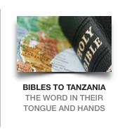 Swahili Bibles in the hands of new believers back up the truth of Scripture with the love of US Christians
